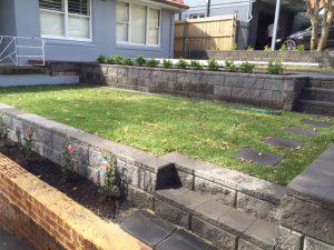 Gardening Services & retaining wall