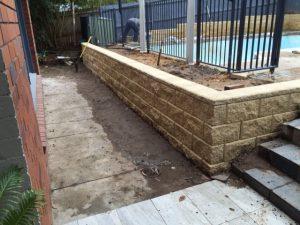concrete retaining wall sydney