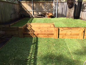 backyard landscaping and lawn care