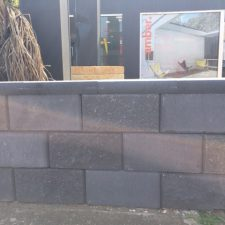 concrete block retaining wall in sydney