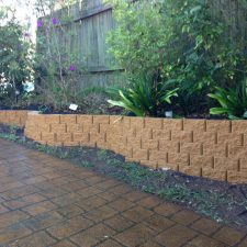 affordable sandstone retaining wall
