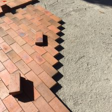 floor brick laying