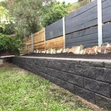 concrete retaining wall for veggie patch