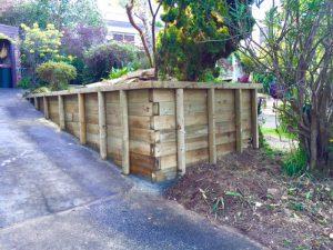 full size wooden rendering for garden