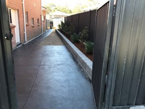 concreate walkways